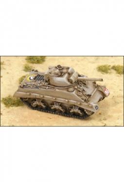 M4A2 Sherman II Eng.Version Panzer UK100