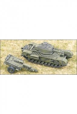 Churchill Crocodile Flammerwerferpanzer UK101