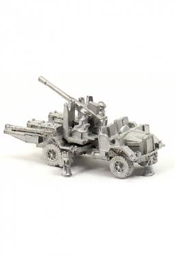 Flak 40mm Bofors auf Morris 4x4 Lkw UK107