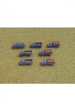 German KHD Truck Variants 1/285 Truck SW21