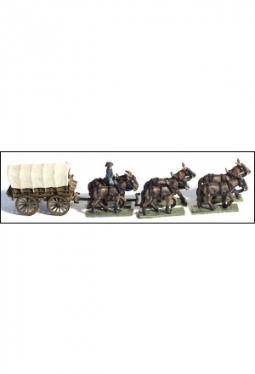 Supply Wagon 6 Mule Team ACW49