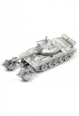 T-55 tank with mine roller W126