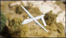 "MQ-1B ""PREDATOR"" UAV Beobachtungsdrohne AC45"