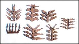 Moderne Waffen Sortiment, Halter, Bomben, Raketen AC28