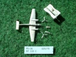Messerschmidt Me 110C Zerstörer MS36