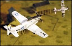 """A-1H """"SKYRAIDER"""" Jabo Vietnam Zeit AC60"""