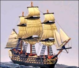 112 Kanonen Linienschiff (HMS San Josef) 222