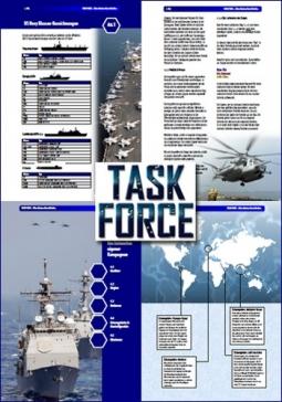 TASK FORCE. Das neue schnelle Regelwerk für moderne Seegefechte in Deutsch