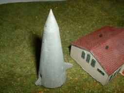 WINKELTURM, German air raid shelter Bau54