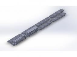 Panzertransportzug mit BR86 schwer