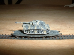 Panzertransportset2 Flatcar / Flachwagen 4x
