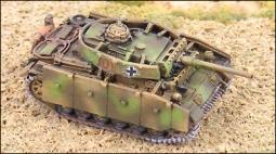 PzKpfw IIIM 50/L60 mit Seitenschürzen u Turmpanzer G577