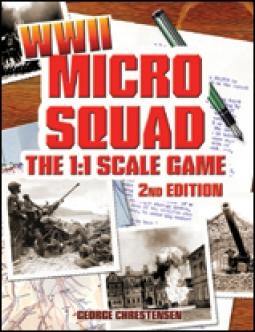 Micro Squad: The Game - WWII, 2nd Ed. (hardcover)