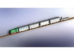 """K5 (E) """"Leopold"""" Ammo Train"""