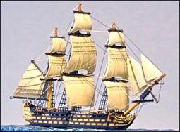 100 Kanonen Linienschiff (HMS Victory) 211F