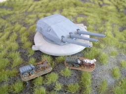 "German 28cm (11"") Coastal Battery"