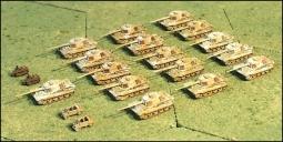 Dt. Panzerkompanie Tiger II  1944/45 Startset G153