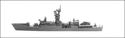 KNOX Klasse Fregatte HUS3