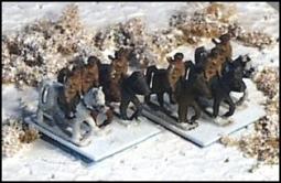 Kavallerie mit Packpferden R32